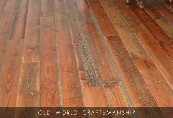 Solid Wood Products - wide plank flooring, reclaimed douglas fir