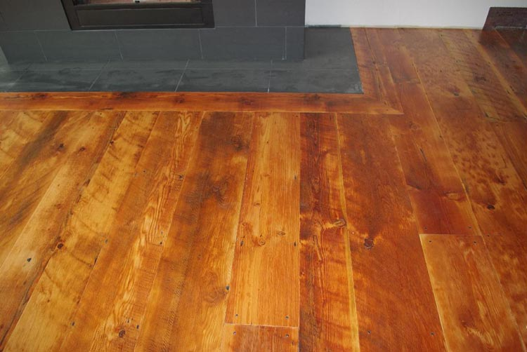 Solid Wood Products Wide Plank Flooring Antique