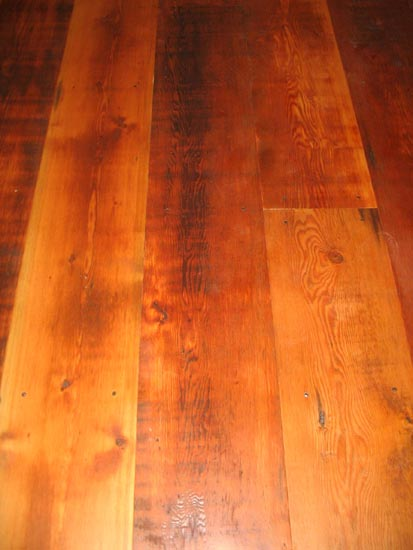 Solid wood products wide plank flooring antique for Columbia flooring canada