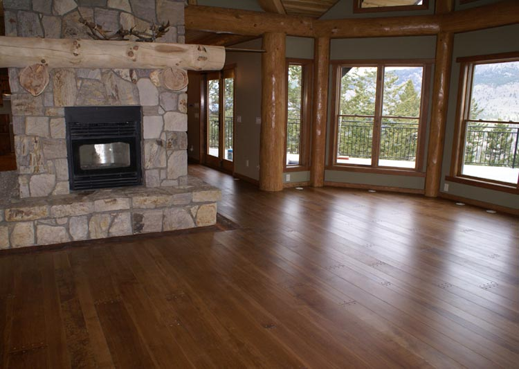 Solid Wood Products Wide Plank Flooring Maple